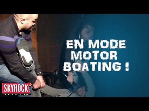 Romano et Le Belge en mode Motor Boating dans la Radio Libre De Difool