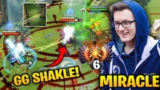 Miracle Windranger GG SHACKLE SHOT - Taking Top 1 Dota 2