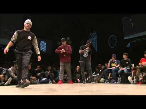 1/8 finale 1vs1 BBOY : Lil G (VEN) vs Thomaz (POL)