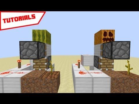 Minecraft: Automatic Pumpkin/Mellon farm ( modulus )
