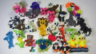 Rainbow Loom: DIY Mommy January Charms Collection Review