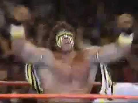 Ultimate Warrior Vs Honky Tonk Man Summerslam 88.  Full match