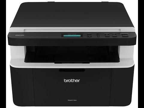 Restablecer Brother impresora dcp 1512 (Desbloquear Toner)