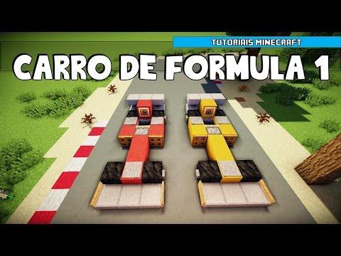 Tutoriais Minecraft: Como Construir um Carro de Formula 1