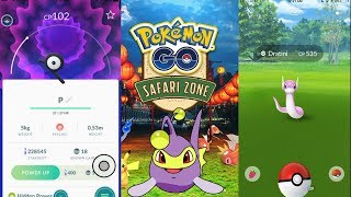 NEW SAFARI ZONE EVENT IN POKEMON GO! UNOWN, SHINY DRATINI & MORE!