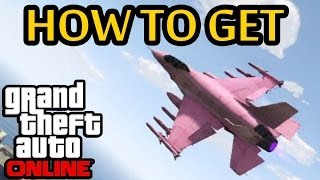 ★ GTA 5 Online - How To Get Chrome Cargobob & Pink Jet