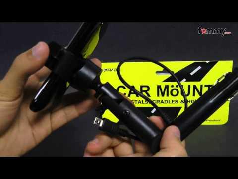 Amzer� Universal Lighter Socket Mount & Charger