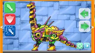 Trò chơi trẻ em- siêu nhân điện quang- lắp ghép robot p3