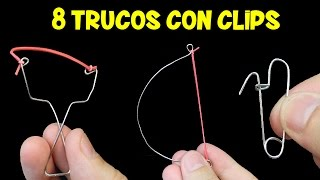 8 Trucos con Clips | Lifehacks con Clips