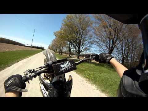 Gopro HD Honda crf250r wheelies, jumps and hillclimbs