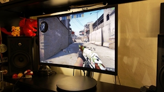"Samsung C24FG70 23.5"" 144Hz 1ms curved gaming monitor review - By TotallydubbedHD"