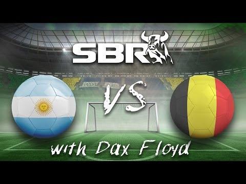 2014 World Cup Betting: Argentina vs. Belgium