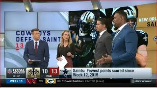 [SHOCKED!] Cowboys defeat Saints - Cowboys won 4 straight games