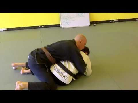 How To Pull Half-Guard From The Turtle Position - Jiu Jitsu Techniques Image 1
