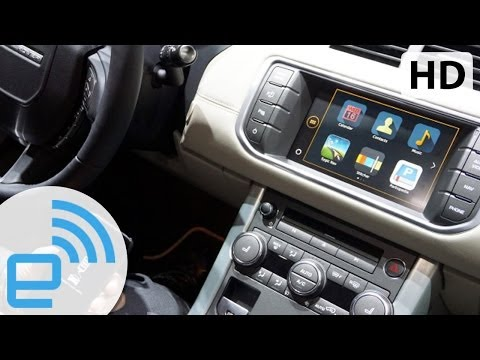 2015 Range Rover Evoque InControl Apps Demo   Engadget