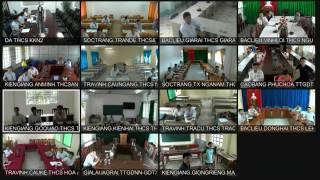 Tập huấn Hướng dẫn sử dụng thiết bị phòng học trực tuyến tại điểm cầu các tỉnh: Sóc Trăng; Trà Vinh; Kiên Giang; Bạc Liêu