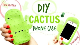 DIY CACTUS PHONE CASE FROM SCRATCH