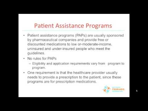 Coverage and Care Resources for People Affected by Psoriatic Diseases