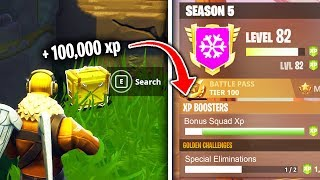 Top 5 Fastest Ways To Rank Up IN FORTNITE SEASON 5!