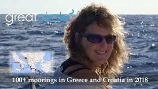 Sailing in Greece - Sailing Greatcircle Overview 2018 - Part 4
