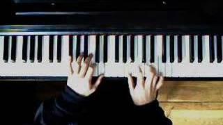 Super mario bro. 2 - Ending theme (color version) on piano