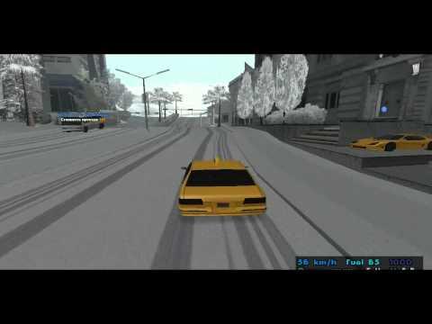 GTA:SA   Snow mod   Зимний мод (без багов)