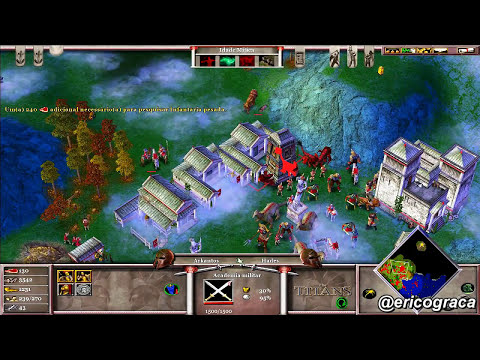 Age of Mythology - The Titans - Campanha AOM (Level 16) - Ep.13