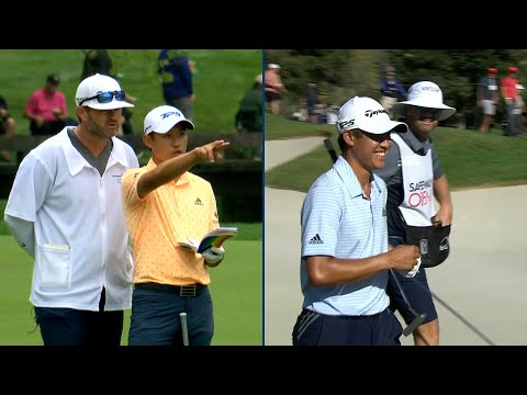 All-access Best Collin Morikawa and caddie conversations on the PGA TOUR