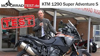 KTM 1290 Super Adventure S | TEST (deutsch)