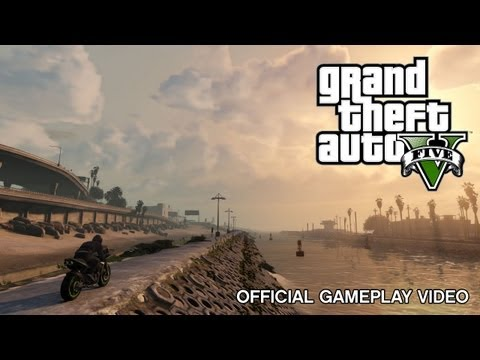 Grand Theft Auto V: Official Gameplay Video video