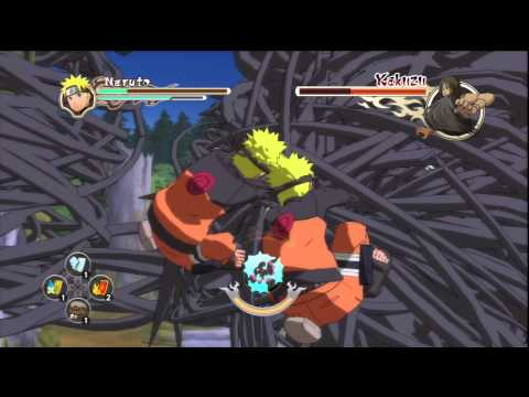 Naruto ultimate ninja storm 2 Boss battles # 6: Naruto vs kakuzu