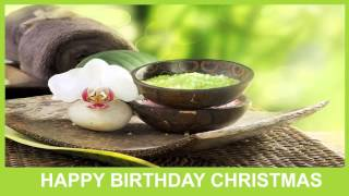 Christmas   Birthday Spa - Happy Birthday