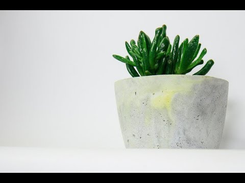 Beton DIY - So geht das! Kreativ Beton, Estrichbeton, Zement & Blumentopf aus Beton selber machen