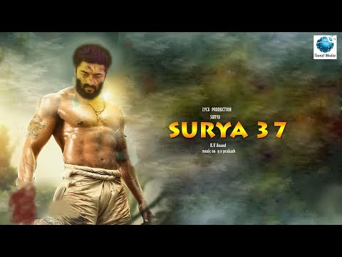 SURYA 37 - 4 get up amazing preparation K.V Anand | Surya | mohanlol | LYCA
