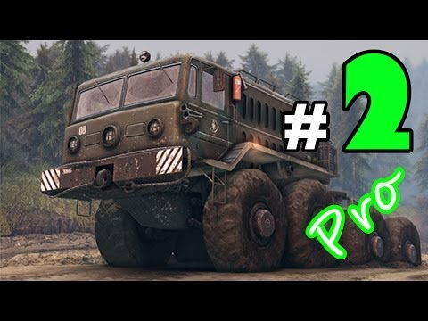 SPINTIRES™: Gameplay Part-2 Map: Plains Lumber Mission + Rescue PC