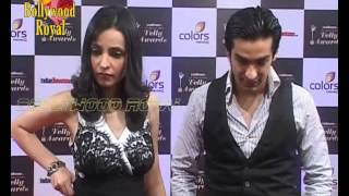 Sanaya Irani at Indian Telly Awards with TV Stars & B Town Celebs