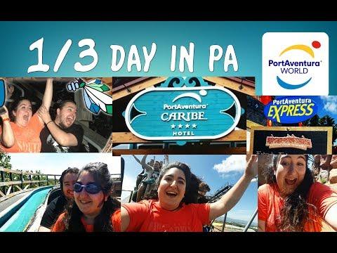 Vlog 1/3   PortAventura + Hotel Caribe + Express Premium Gold #1