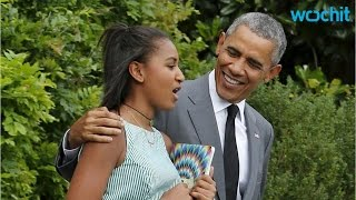 Barack Obama Joins Malia and Sasha in New York for Some Father-daughter Time