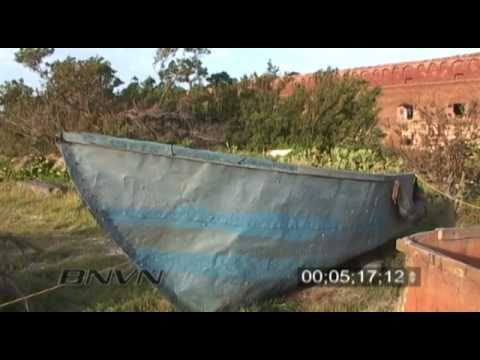 7/23/2005 Footage From Fort Jefferson on Garden Key in the Dry Tortugas National Park