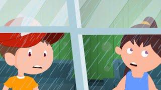 Rain Rain Go Away | Classic Rhymes By Kids Channel