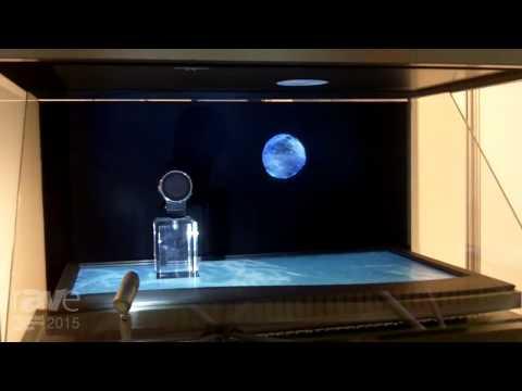 ISE 2015: Kenzan Exhibits Dione Custom Dual Screen Holographic Display