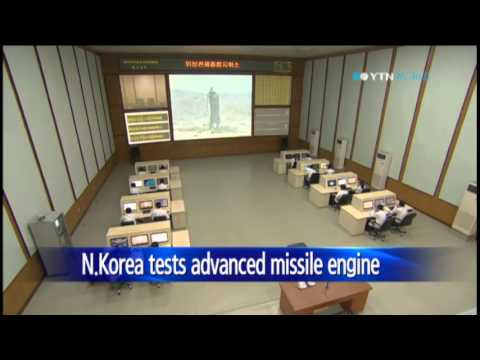 N.Korea tests long-range KN-08 missile engine: 38 North / YTN