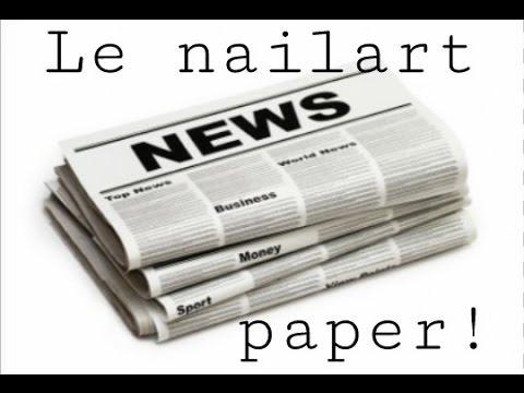 Comment faire l'effet News Paper? (Papier journal)