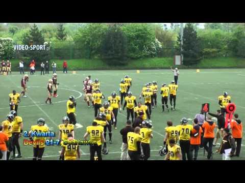 Topliga: Devils Wrocław-Seahawks Gdynia (12.05.2013) Cały Mecz