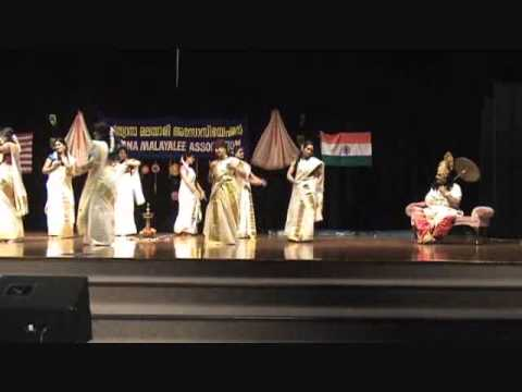 Thiruvathira - Indiana Malayalee Association Onam 2011