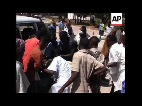 Heavy fighting in capital kills 15 as insurgents attack, injured, people fleeing
