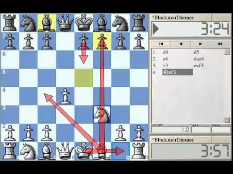 GM Alterman's Gambit Guide -  Blackmar-Diemer Gambit Part 1 at Chessclub.com