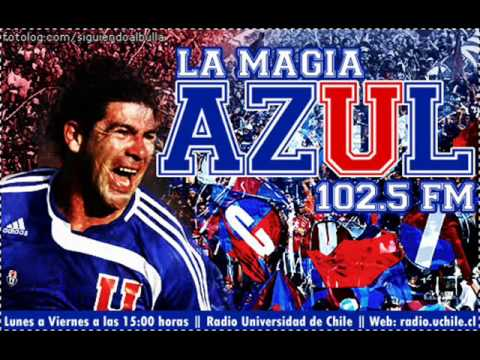 U DE CHILE 3-2 COLO-COLO      LA MAGIA AZUL