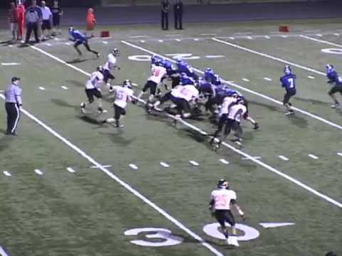 #64 Johnny Cruz's  Football Highlights - York High School, VA