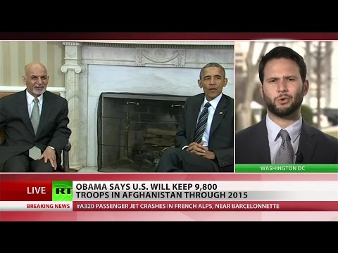 Obama to keep 9,800 troops in Afghanistan through 2015